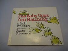 The Baby Uggs Are Hatching Jack Prelutsky Hardcover *Signed* 1st Ed. 4th Print