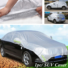 Summer Outdoor Universal SUV Car Cover Protector Heat Sun Shade Dustproof Cover