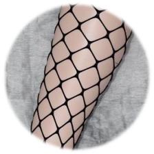 Black Knee High Fishnet Socks, One size, bnwot KNEE HIGHS. new