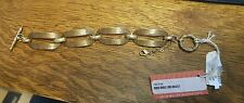 Stephen Dweck 2005 Ribbed Bronze Links Bracelet new with tags!