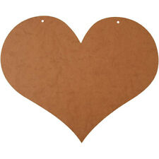 Large 50cm X 40cm MDF Valentines Day Wooden Love Heart Sign Wall Plaque 56745