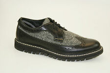 Timberland Britton Hill leather and Harris Tweed ® fabric OXFORD TG. 41,5 US 8