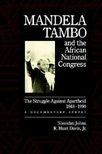 Mandela, Tambo, and the African National Congress: The Struggle Agains-ExLibrary