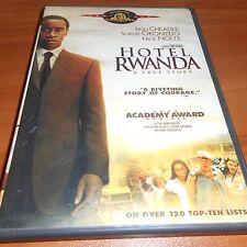 Hotel Rwanda (DVD Widescreen) Joaquin Phoenix, Sophie Okonedo, Don Cheadle Used
