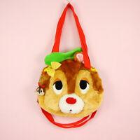 Tokyo Disney Sea Chip 'n Dale Red Nose Plush Shoulder Bag Tote Backpack