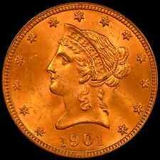 1901 $10 Liberty Head Eagle PCGS MS64 OGH - PQ Gorgeous Gem