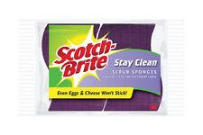 NEW! SCOTCH-BRITE Multi-Purpose Scrub Sponge 2-Pack! 202