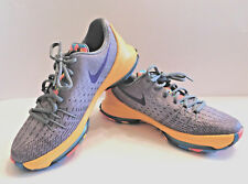 Nike KD 8 (GS) 7Y WLF GRY/CRT PRPL/CL GRY/BL LGN 768867 050 ~USED 1 TIME ONLY~