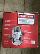 Craftsman 10 Amp Variable Speed Plunge Base Router