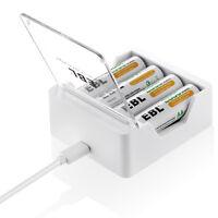 EBL Portable Moible USB DC Charger For AA AAA Ni-MH Ni-CD Rechargeable Battery