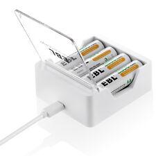 EBL Portable Universal USB Charger For Ni-MH Ni-CD AA AAA Rechargeable Battery