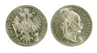 pcc1843_4) Österreich AUSTRIA Francesco Giuseppe I° 1 fiorino 1873