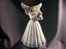 Lladro Christmas Heavenly Harpist Angel Tree Topper Figurine - Wonderful Conditn