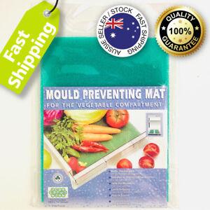 Fresh Fridge Mat Drawer Liner Fruit & Veg Fridge Mold Mould Preventing Pad