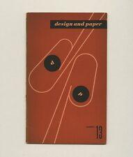 1943 Ladislav Sutnar CONTROLLED VISUAL FLOW Marquardt Design and Paper No. 13