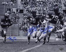 Bob St Clair Joe Perry Hugh McElhenny SIGNED 11x14 Photo 49ers PSA/DNA AUTOGRAPH