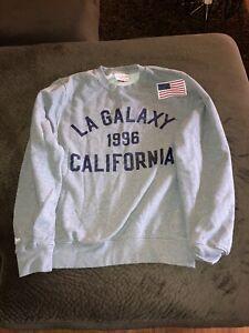 Mitchell & Ness LA Galaxy 1996 California Soccer Crewneck Sweater S