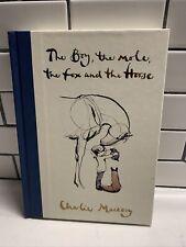 The Boy, the Mole, the Fox and the Horse HARDCOVER – 2019 by Charlie Mackesy