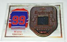 Wayne Gretzky 2018 Leaf In The Game Used Sports Enshrined Jersey #'d 19/20 HOF