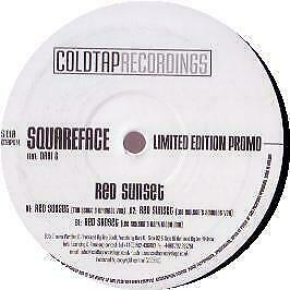 Squareface Feat. Dani G - Red Sunset - Coldtap - 2005 #265202
