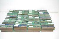 Lot of 1096 1GB DDR2 PC2 Various Speed Desktop Memory RAM