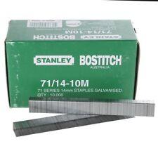 Stanley Bostitch 71 serie 14mm Galvanised Staples 10,000 14 - 10m for staple gun