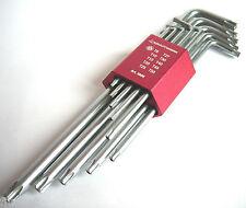 PROFI Winkelstiftschlüssel Set 10tlg Satz Torx Schlüssel TX Schrauben KRAFTWERK