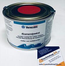 (39,73€/L) Veneziani Gummipaint Schlauchbootfarbe Gummifarbe, Rubberpaint: rot