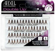 Ardell Duralash Double Up - Knot-Free Double Flares Long Brown - 65995