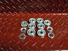 """8 x 1/2"""" wheel bearings suit honda rover masport lawnmower + 4 retaining washers"""