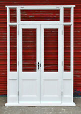 Hardwood French Doors with sidelights and fanlight! Bespoke! Made to measure!