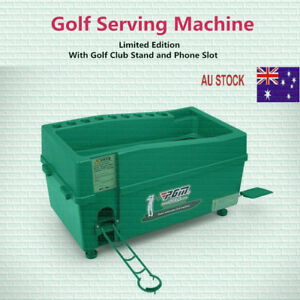 Automatic Golf Ball Dispenser with Club Stands, Golf Serving Machine,Golf Box !