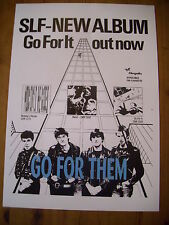 Stiff Little Fingers GO FOR IT! Poster/Print