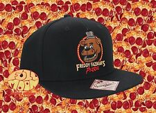 New Five Nights At Freddy's Freddy Fazbear's Pizza Snapback Cap Hat
