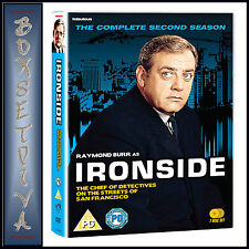 IRONSIDE - THE COMPLETE SECOND SEASON - SEASON 2  **BRAND NEW DVD**
