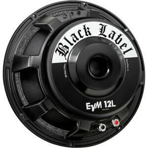 Electro-Voice EVM12L Black Label 8 Ohm Speaker Black