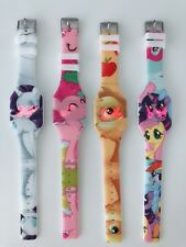 1x Girl Kid Children My little Pony Digital LED Silicone Band Wrist Watch Gift