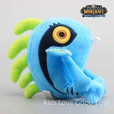 WOW World of Warcraft Blue Murloc Fish Soft Plush Doll Stuffed Toy 8'' Teddy NEW