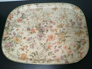 Large Vintage Fibreglass Tray. Floral Design by Arnold Designs of Chalford, Glos