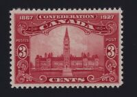 Canada Sc #143 (1927) 3c brown carmine Parliament Mint VF NH MNH