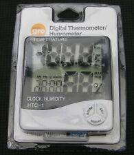 Termómetro Digital Inteligente Gro/Higrómetro-Nuevo y Sellado 24 Hora Reloj RRP £ 14