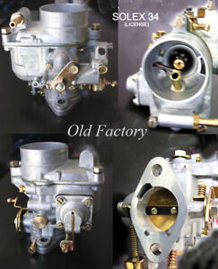 MERCEDES BENZ 190 C, Carburetor model 34 (Solex type) NEW RECENTLY MADE
