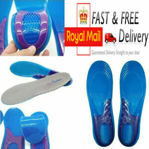 Shoes Insoles Arch Supports Plantar Fasciitis Orthotic Silicone Gel Heel Inserts