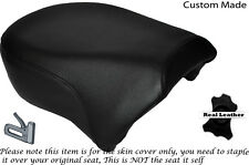 BLACK STITCH CUSTOM FITS HARLEY SPORTSTER IRON 883 1200 REAR SEAT COVER