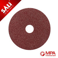 115mm Fibre Sanding Discs for Angle Grinder - Select Pack Size