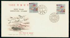 Mayfairstamps JAPAN FDC 1966 COVER RYUKYUS NEW YEAR OF THE HORSE wwh24321