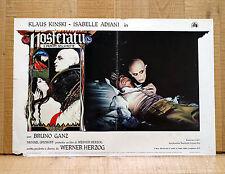 NOSFERATU IL PRINCIPE DELLA NOTTE fotobusta poster Horror Herzog Kinski BJ15