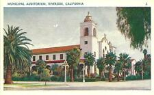 Riverside, CA / Municipal Auditorium / California / circa 1920's / Lot N348