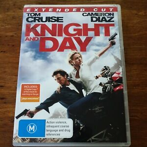 Knight and Day DVD R4 VERY GOOD - FREE POST
