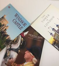 Windsor Castle Royal Mews @ Buckingham Palace Official Guidebooks + London Tower